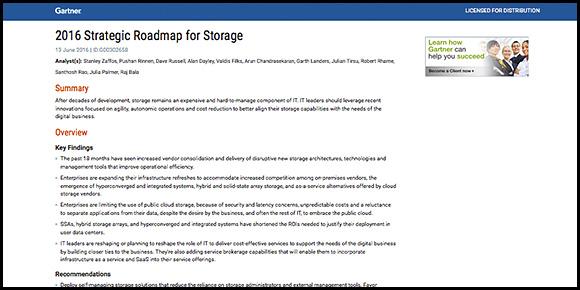 2015 Storage Automation Report
