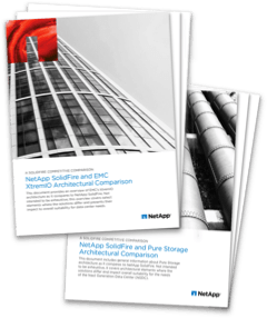 2016 Architectural Comparison Reports: SolidFire vs Pure Storage and EMC XtremIO